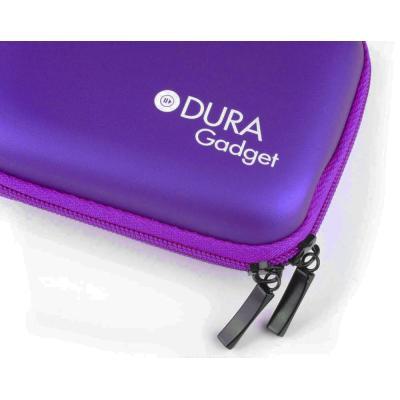 Etui rigide en violet pour Panasonic DMC-SZ 3 EG-K, Lumix DMC-F5, DMC-SZ3EF-K