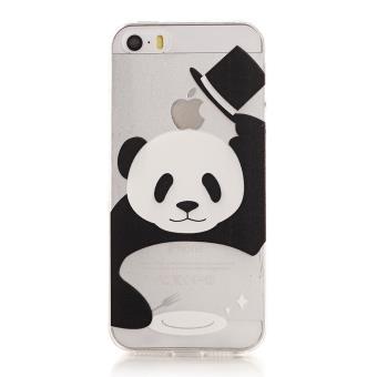 coque silicone iphone 6 panda