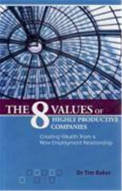 8 Values of Highly Productive Companies: Creating Wealth from a New Employment Relationship