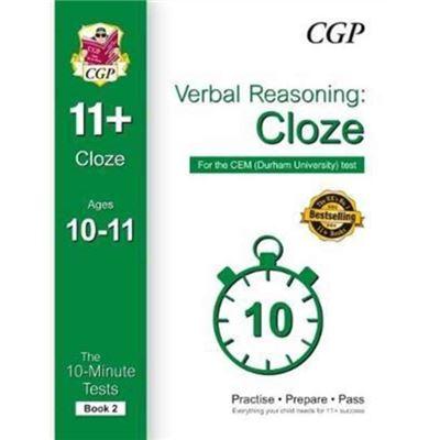 10Minute Tests For 11 Verbal Reasoning C