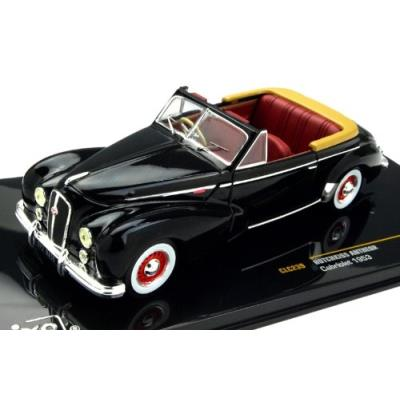 Ixo 1 43 hotchkiss antheor cabriolet 1953 black (japan import)