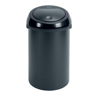 brabantia touch bin poubelle 50 litres couvercle en. Black Bedroom Furniture Sets. Home Design Ideas