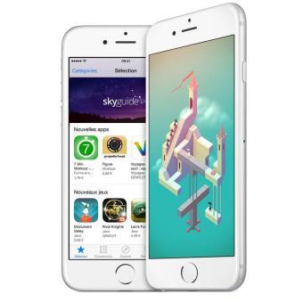 apple iphone remade 6 plus 16 go 5 5 argent r conditionn a smartphone achat prix fnac. Black Bedroom Furniture Sets. Home Design Ideas
