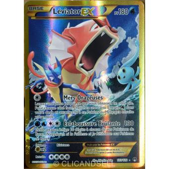 prix carte pokemon rare carte Pokémon 123/122 Léviator Ex 180 PV   SECRET RARE   FULL ART