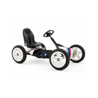 Fais la course dans ta rue avec ton vrai BMW Street Racer! Ce kart àpédales très cool est la combinaison parfaite de la grande expérience au niveau de la course de BMW et de la technique BERG. Fais la course en faisant crisser tes pneus dans ta rue , arr