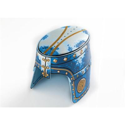 LIONTOUCH-Heaume de Chevalier Lion Doré,bleu