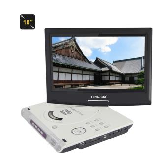 blanc 10 lecteur dvd portable hd cran lecteur dvd. Black Bedroom Furniture Sets. Home Design Ideas