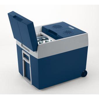 Norme FR, MOBICOOL W40ACDC Glaci/ère /électrique portable /équip/ée de roulettes Classe /énerg/étique A++ 18/°C en dessous de la temp/érature ambiante 39L 12V//230V p380xh420xl560mm