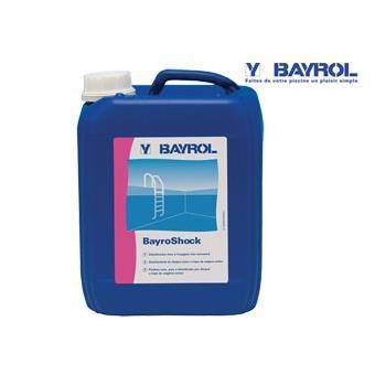 Traitement oxyg ne actif bayroshock bayrol bidon 5l jeu - Traitement piscine a l oxygene actif ...