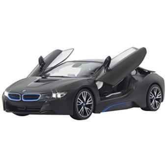 jamara 404570 voiture avec porte radiocommand bmw i8 noir echelle 1 14 autre. Black Bedroom Furniture Sets. Home Design Ideas