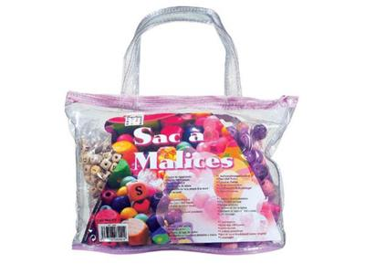 PERLES BOX - Sac a malices rose