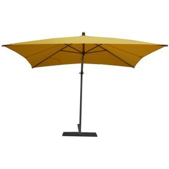 parasol rectangulaire jaune