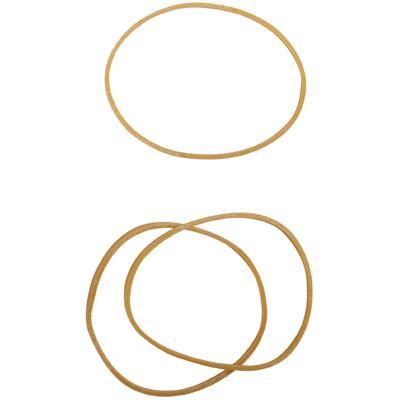 Bracelet caoutchouc blond 70 mm - boite de 100g