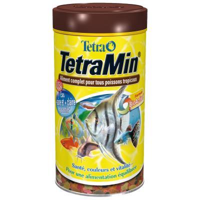Alimentation tetra tetramin pour poissons exotiques contenance 250 ml