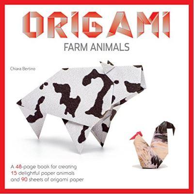 Origaming: Farm Animals - [Livre en VO]