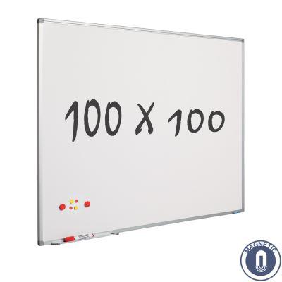 Tableau blanc 100 x 100 cm - magnétique