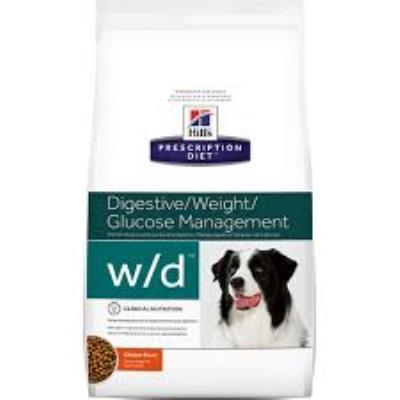 Croquettes hill´s prescription diet canine w/d sac 12 kg