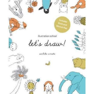 Let'S Draw ! Illustration School Kit /Anglais