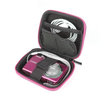 Étui rose pour Nikon Coolpix L27, S2700, S3500, Olympus TG-820, Samsung ST72