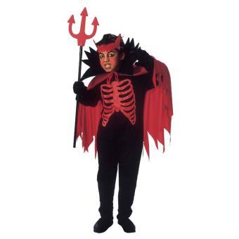 d guisement diable rouge gar on halloween 8 10 ans. Black Bedroom Furniture Sets. Home Design Ideas