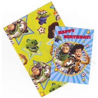 Toy Story Carte Anniversaire Papier Cadeau Etiquette Autres