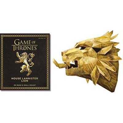 Game of Thrones Mask: The House Lannister Lion - [Version Originale]