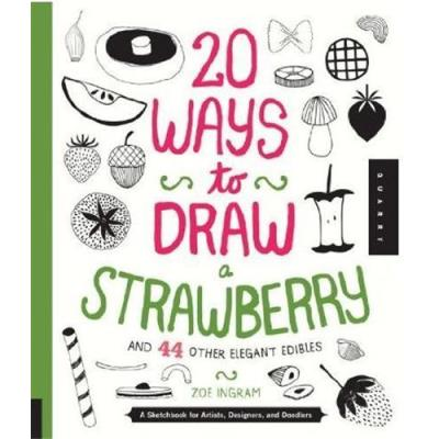 20 Ways To Draw A Strawberry /Anglais