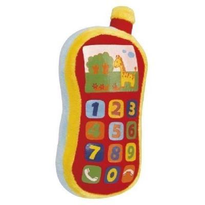 SIMBA - Téléphone en peluche bébé