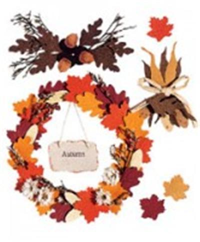 Stikers 3D Jolee's boutique automne