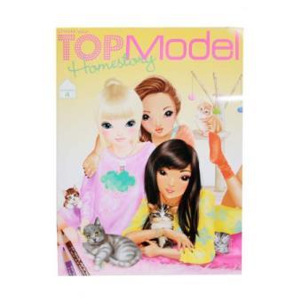 Top model album de coloriage home story colocation 4 - Album de coloriage top model ...