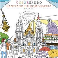 Coloreando Santiago de Compostela