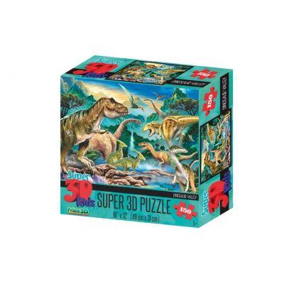 Prime 3D puzzle de Dinosaur Valley 3D 150 pièces