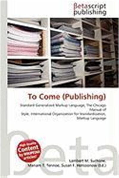 To Come (Publishing)