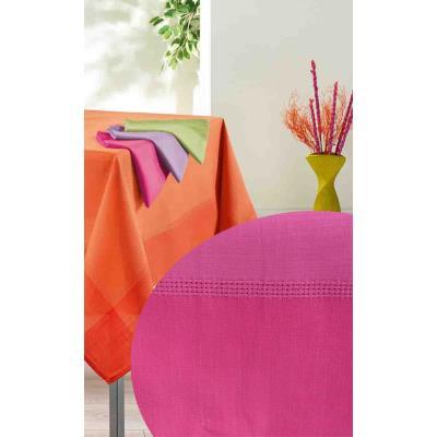 3 serviettes de table 40x40 MISTRAL fuchsia