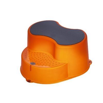 Rotho babydesign marche-pied - orange transparent