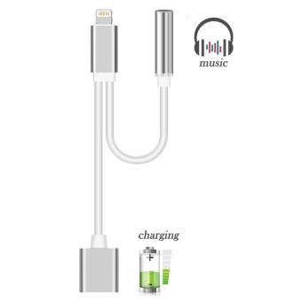 20 sur cabling adaptateur lightning audio charge 2 en 1 adaptateur de lightning pour. Black Bedroom Furniture Sets. Home Design Ideas