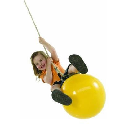 Ballon jaune pour balançoire Chalet & Jardin