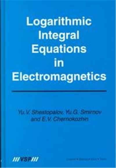 Logarithmic Integral Equations in Electromagnetics