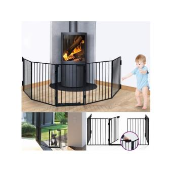 barri re de s curit pare feu chemin e et grille de. Black Bedroom Furniture Sets. Home Design Ideas