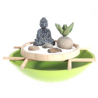 Jardin zen japonais - Vert - Objet de décoration - Achat & prix   fnac