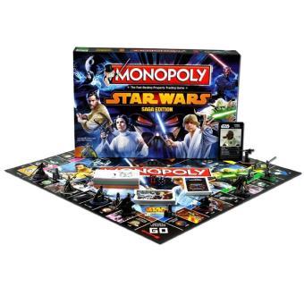 Version française Monopoly Star Wars Saga Jeu de societe Jeu de plateau