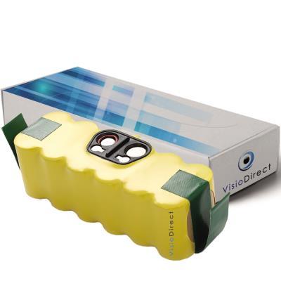 Batterie pour Irobot Roomba 532 aspirateur laveur autonome 3500mAh 14.4V - Visiodirect -
