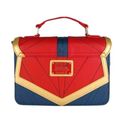 Loungefly x Captain Marvel Suit Debossed Sac bandouli/ère