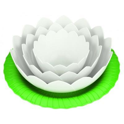 Lotus set de 4 bols emboitables - Zak design