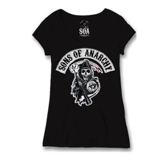 Of PrixFnac Femme Anarchy ReapermShirtTop Shirt Sons T Soa EeYDH2W9Ib