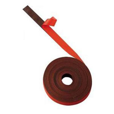 Ruban magnétique de 1cm x 5m rouge