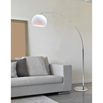DESI lampadaire ARC Blanc hauteur 166cm 5 Luxe Lampadaire En Arc Kdh6