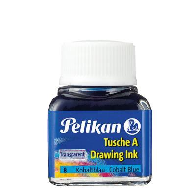 Encre de chine Pelikan 523 10 ml bleu Cobalt