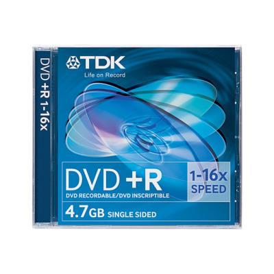 Supports inscriptibles une seule fois, les DVD+R offrent une capacité de stockage élevée. Ils peuvent sauvegarder des milliers de photographies numériques ou de fichiers MP3 ou encore deux heures de vidéo numérique en mode SP, quatre heures en mode EP. La