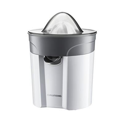 Grundig White Sense CJ 6280 W - Presse-agrumes - 40 Watt - blanc/argent